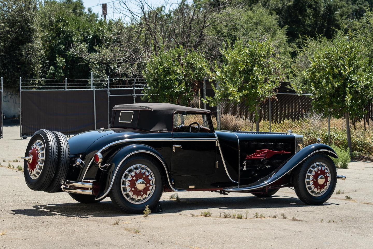 This 1930 Bucciali Tav 30 La Marie Torpédo Sport Type Cannes will go to auction during Monterey Car Week with Bonhams (Lot 73) on Friday, 13 August 2021 with no publicly available official estimate.