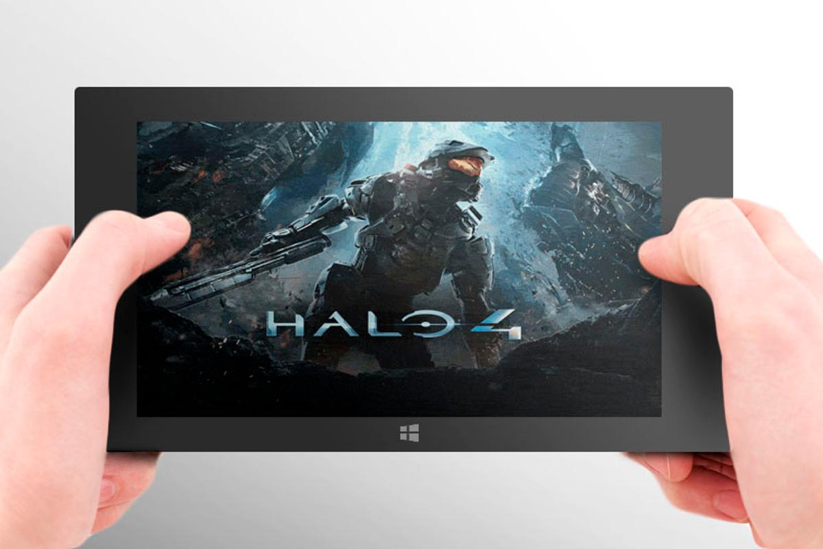 The rumored tablet would need great flagship games to succeed (hands: Shutterstock)