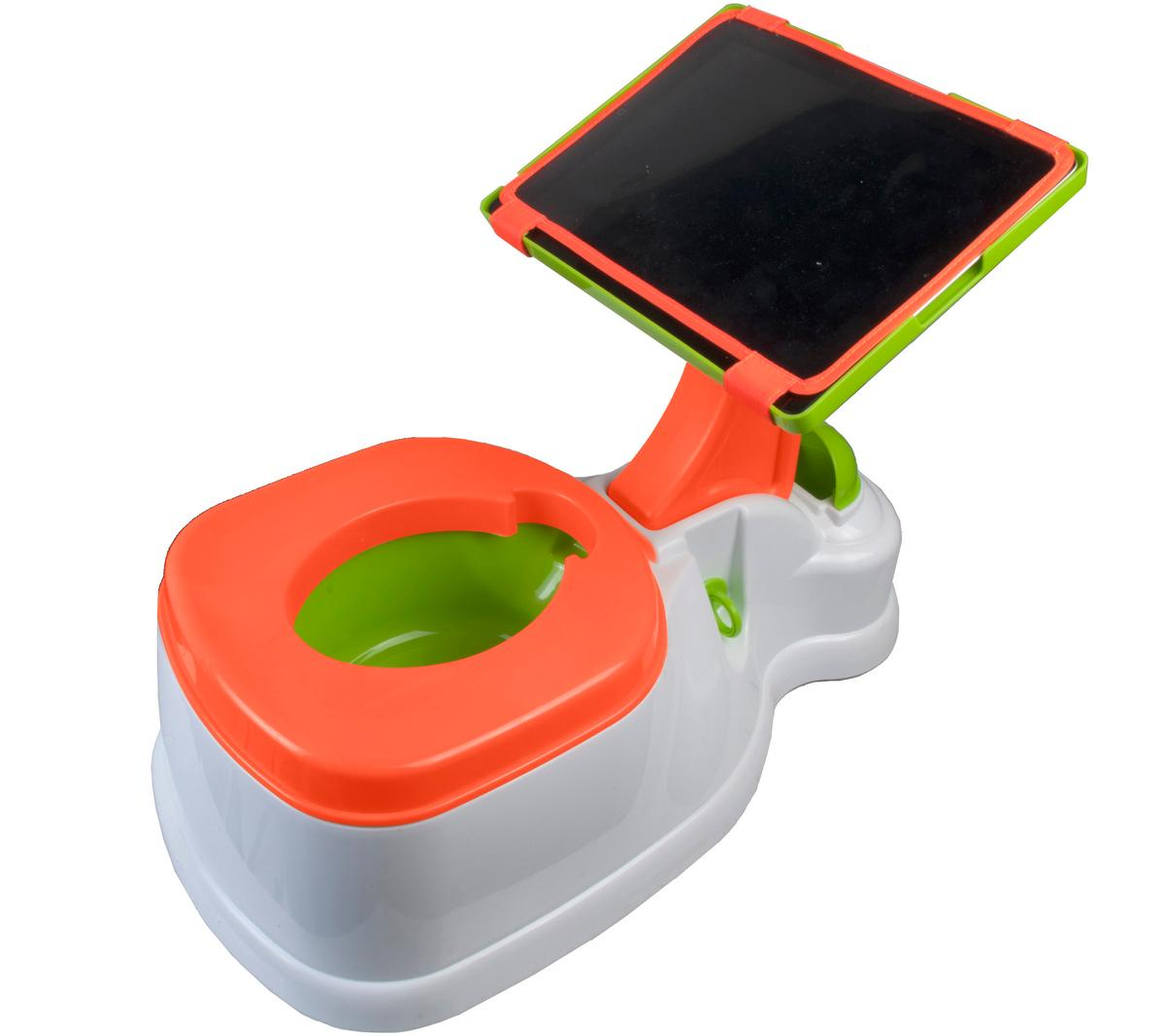 The iPotty has been designed to help children learn to use the potty by keeping them entertained when nature calls