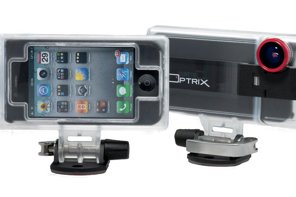 Optrix XD Sport case fits the iPhone 4, 4S, and the iPod Touch 4G with a sled adaptor