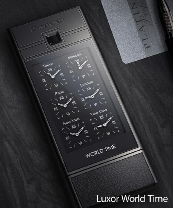 The Gresso Luxor World Time phone