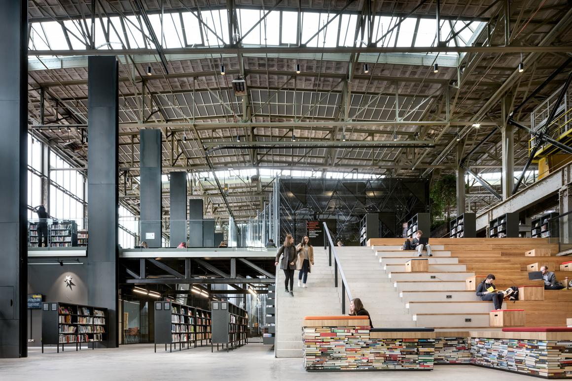 LocHal Public Library, led by Civic Architects, has been named the World Building of the Year at the 2019 World Architecture Festival