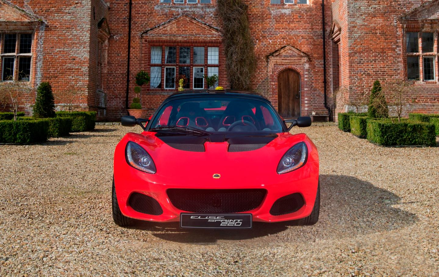 The Lotus Elise has a new nose for a slight weight saving