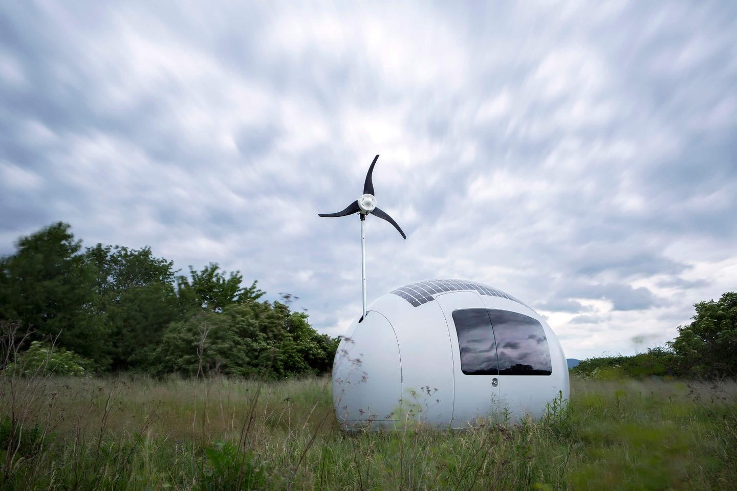The Ecocapsule is available for €79,000 ($85,700), plus taxes