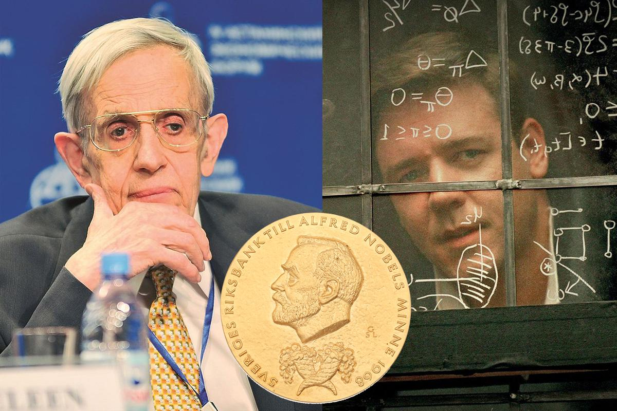John F Nash's struggles with mental illness and his recovery became the basis for Sylvia Nasar's biography, A Beautiful Mind, as well as the film of the same name starring Russell Crowe, and made Nash's story internationally known