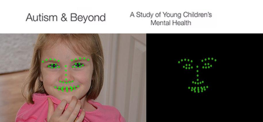 The app tracks key facial features and is capable of anonymizing participants