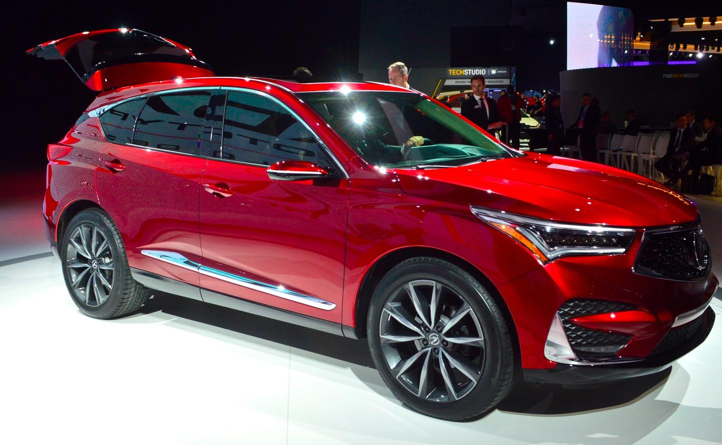 The Acura RDX is powered bya new 2.0 -iter, 16-valve DOHC direct-injected engine