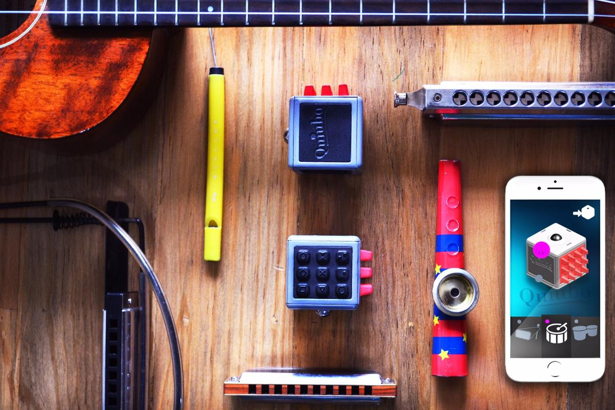 The Quiubo music-making cube is raising production funds on Kickstarter