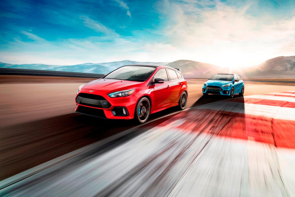 The Focus RS Limited has a Quaife limited-slip differential