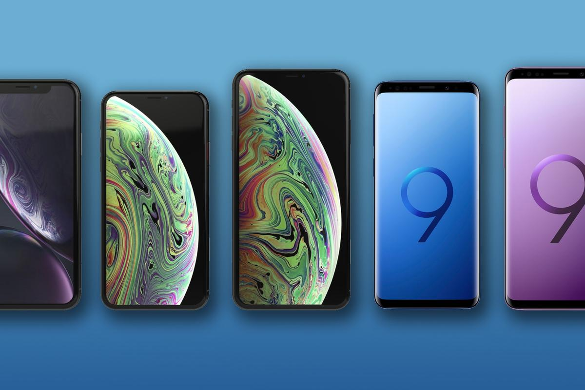 New Atlas compares the specs and features of Apple's iPhone XR, XS and XS Max to Samsung's Galaxy S9 and S9+