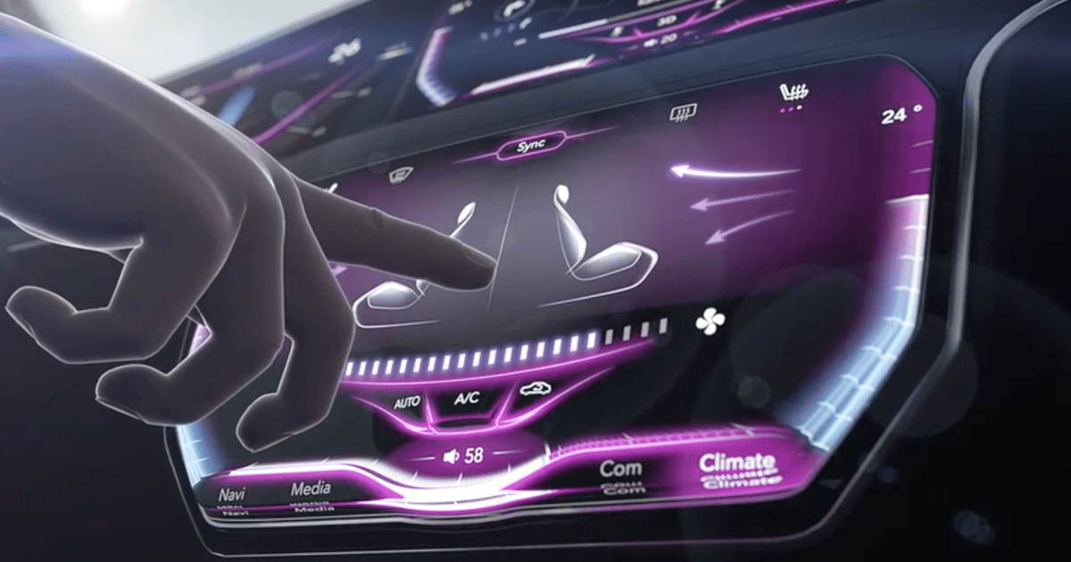 Continental makes car touchscreens pop with tactile 3D surface