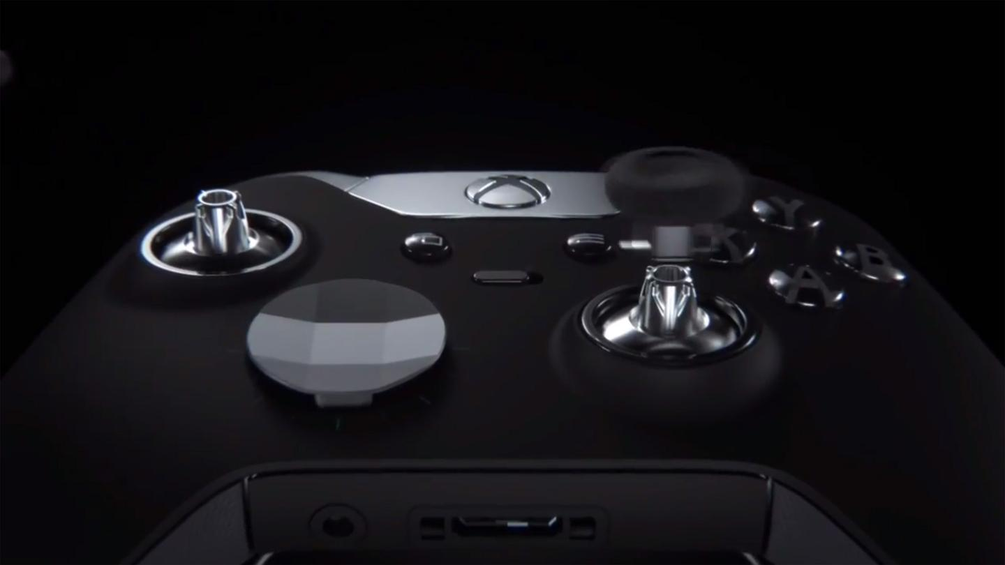 The new controller is aimed squarely at gaming enthusiasts