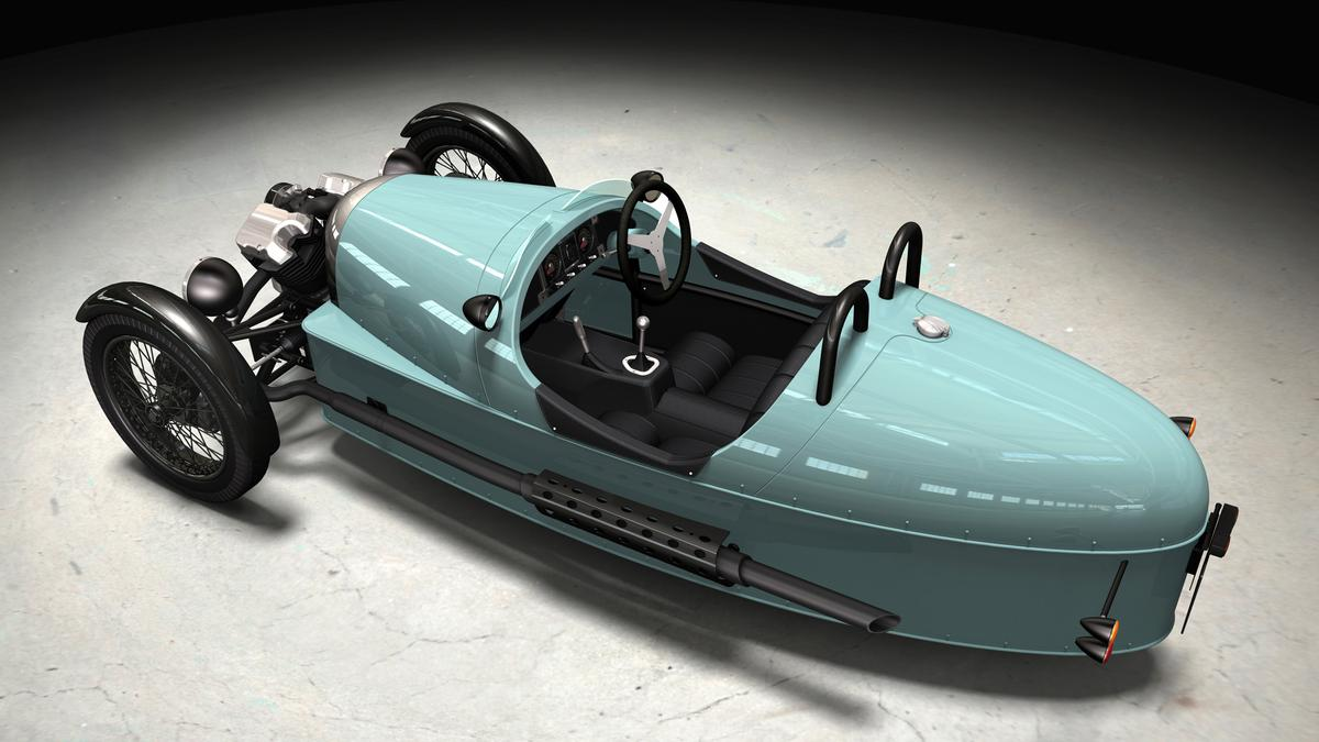 The new Morgan three-wheel cyclecar