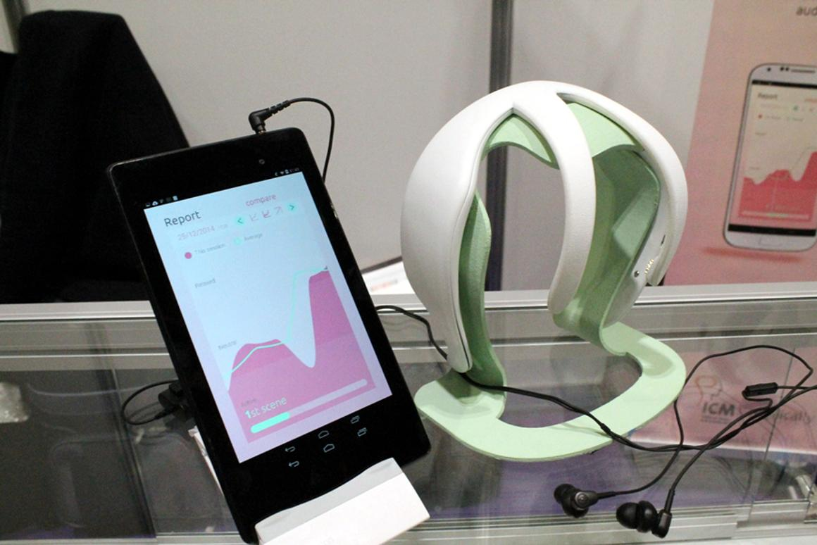 Melomind is a hew headset and app aimed at helping users to manage stress (Photo: Stu Robarts/Gizmag.com)