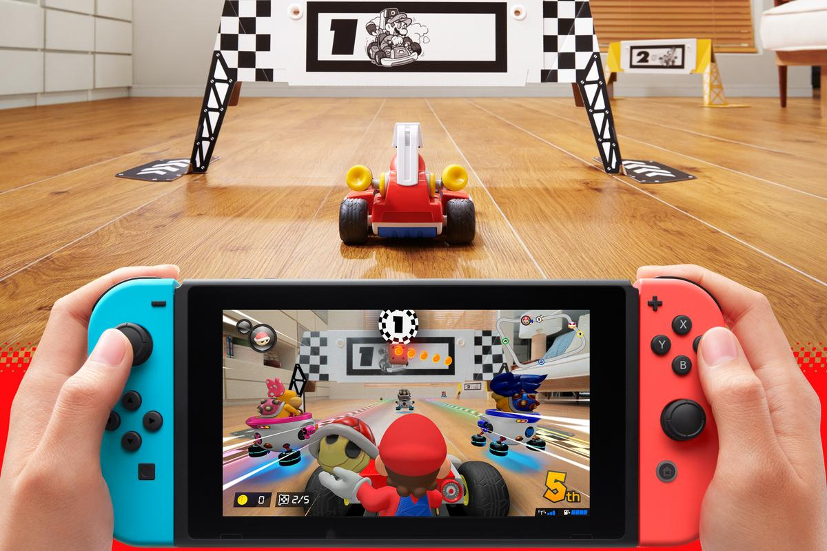 Mario Kart Live: Home Circuit blends the real and the virtual