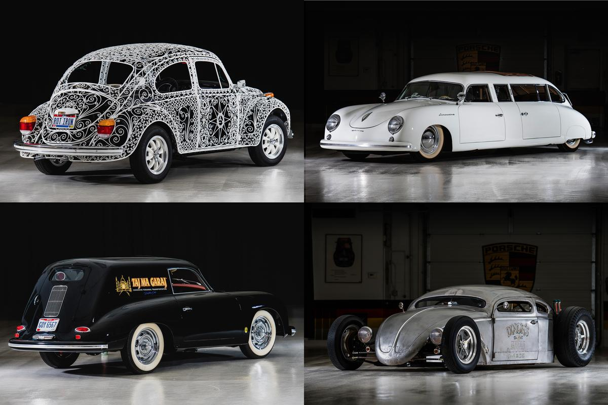 Four preposterous and unique automotive artworks from the Taj Ma Garaj Collection