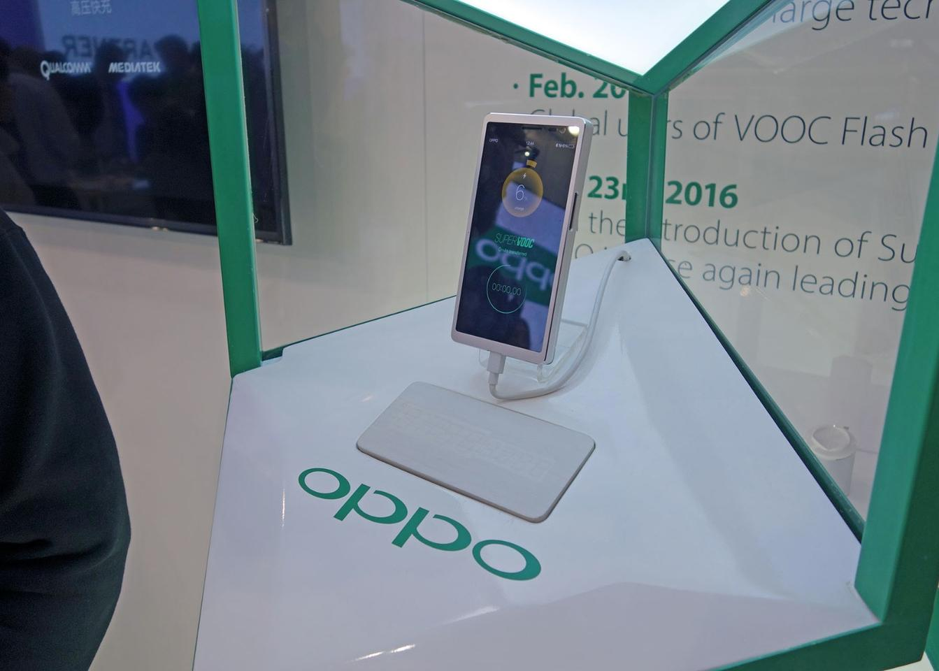 The 15-minute claim is based on a 2,500 mAh battery