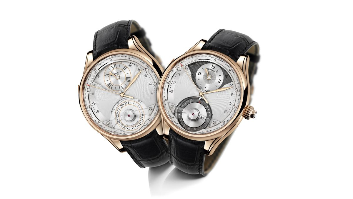 The Montblanc Metamorphosis II changes styles and functions on command