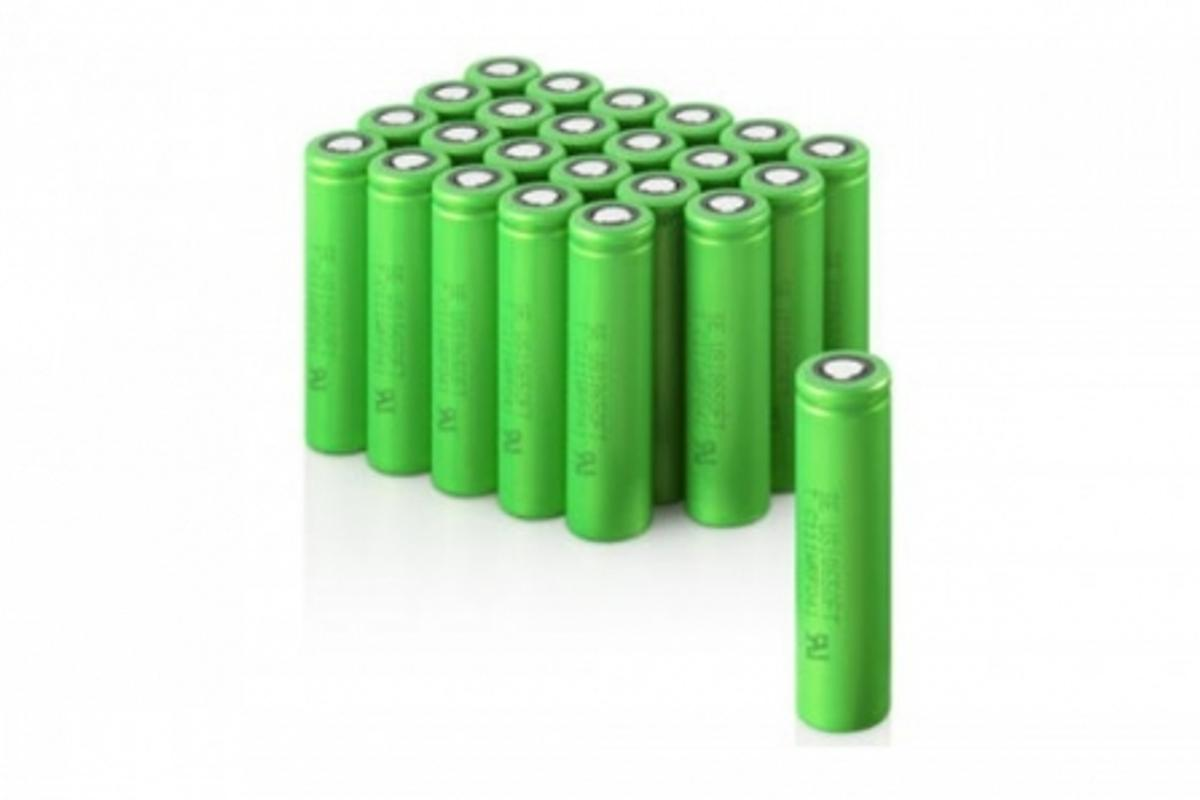 Sony's new rechargeable batteries that use Olivine-type Lithium Iron Phosphate as the cathode material