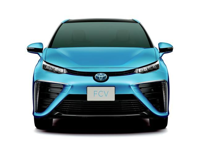 The Toyota FCS will hit the market next year
