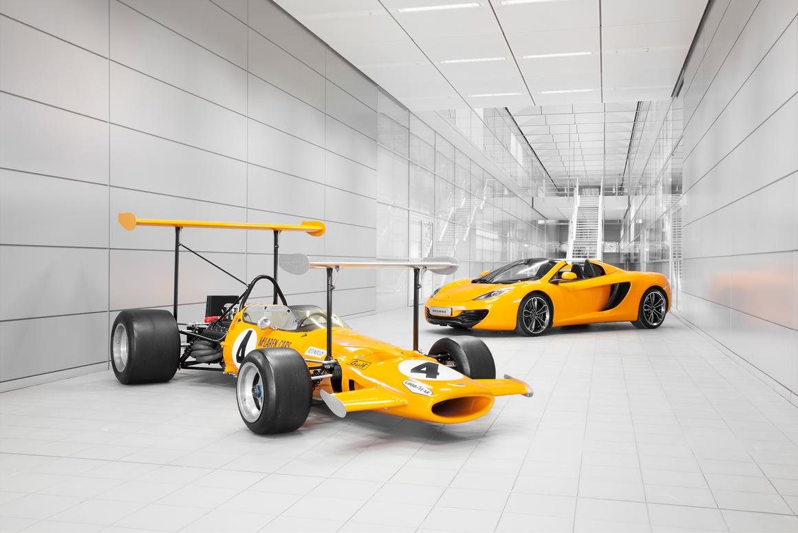 50 years of automotive innovation – Bruce McLaren Motor Racing Limited officially came into being on September 2, 1963