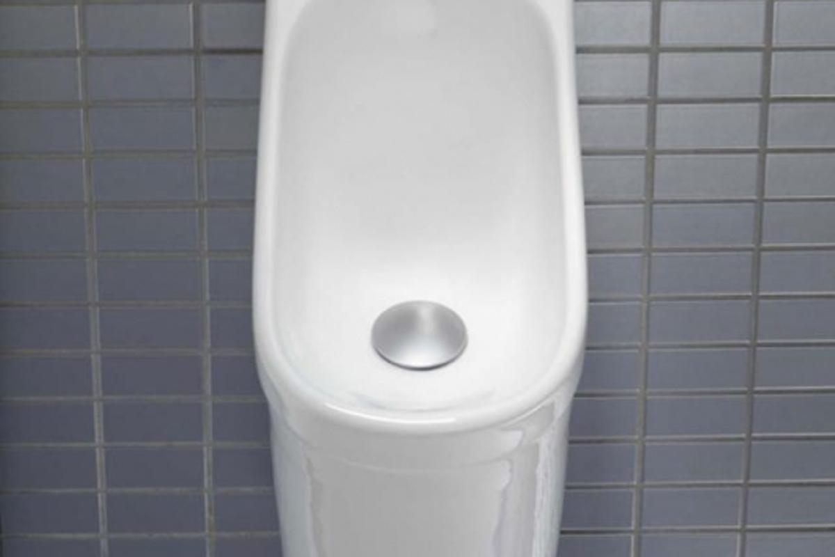 Caroma's H2Zero Waterless Cube Urinal