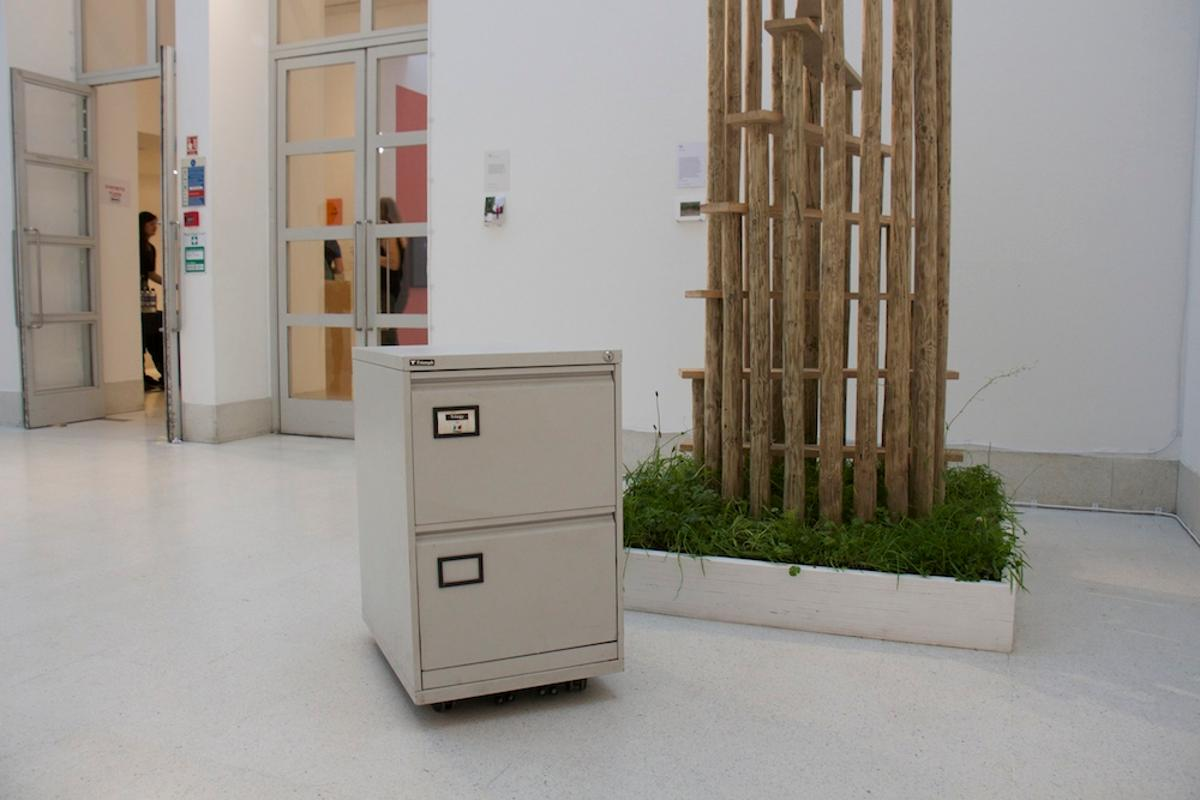 The autonomous filing cabinet was created during designer Jaap de Maat's final year studying at the Royal College of Art (Photo: Jaap de Maat)