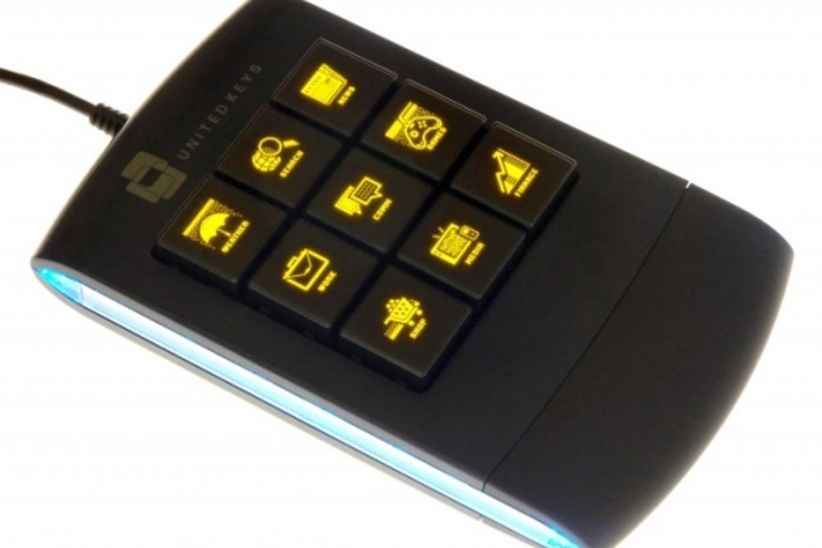 The OLED standalone keypad.