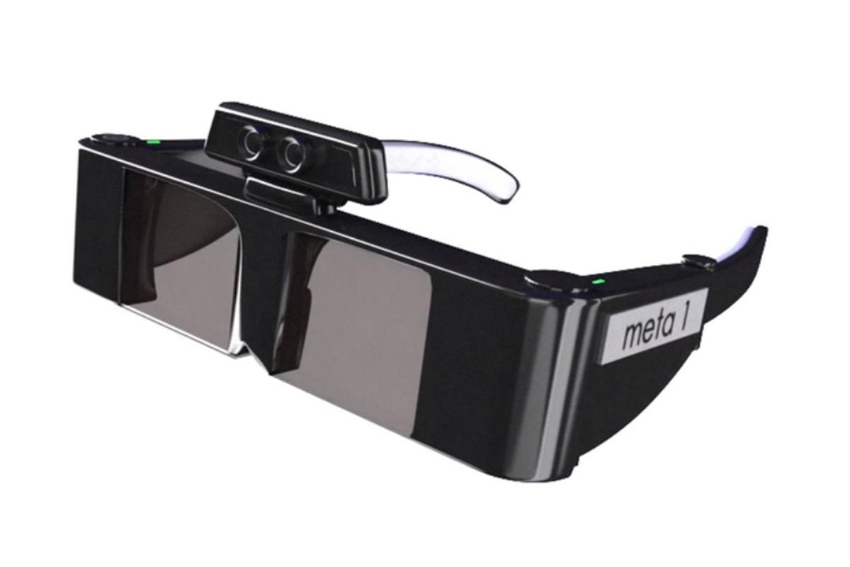 meta's 3D gesture-controlled augmented reality glasses