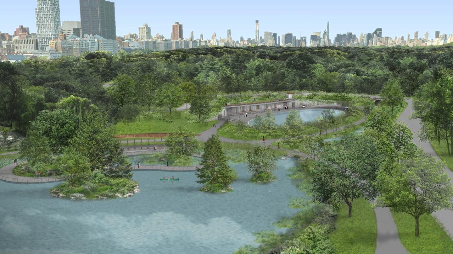 The Central Park makeover project is expected to begin construction in early 2021, with completion slated for 2024