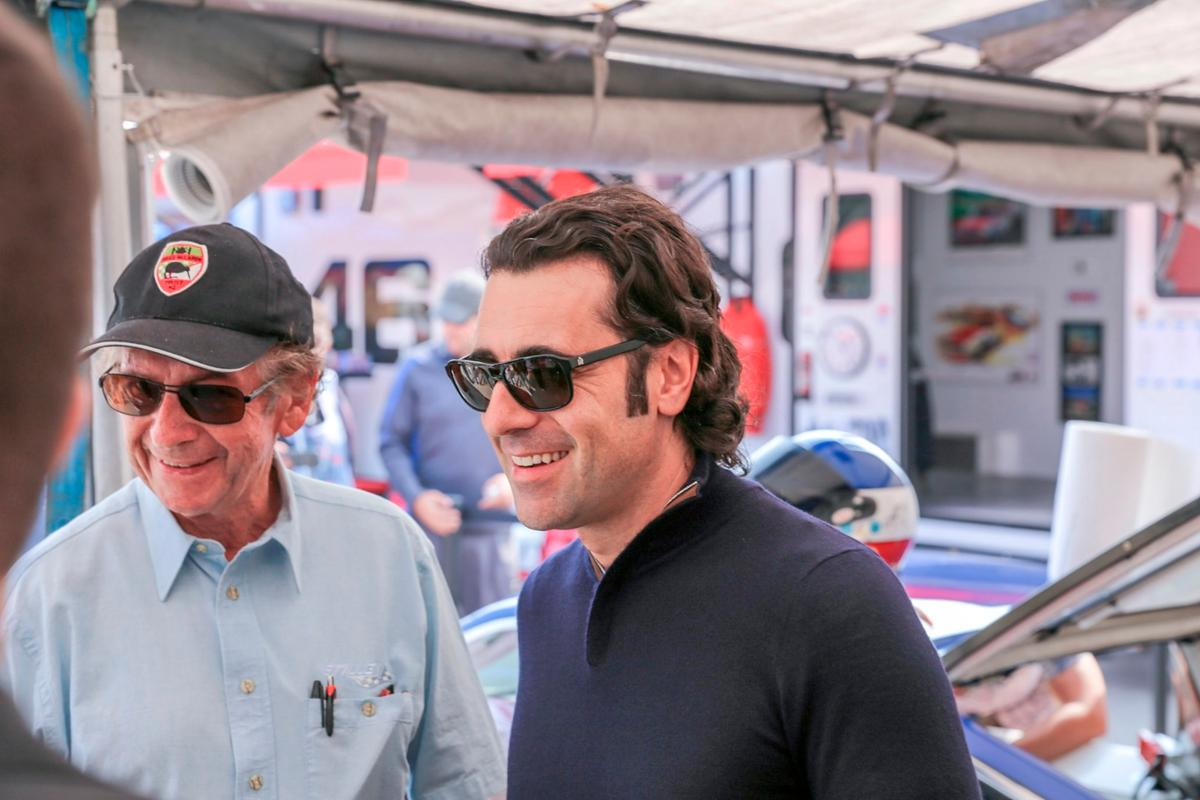 Four time Indy Car series champ andthree-time Indy 500 winner,Dario Franchitti, was on hand to give New Atlas the official tour of variousNissans, new and old.