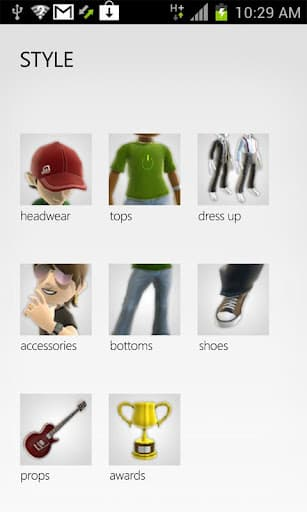 My Xbox Live allows users to customize their Avatar on the go