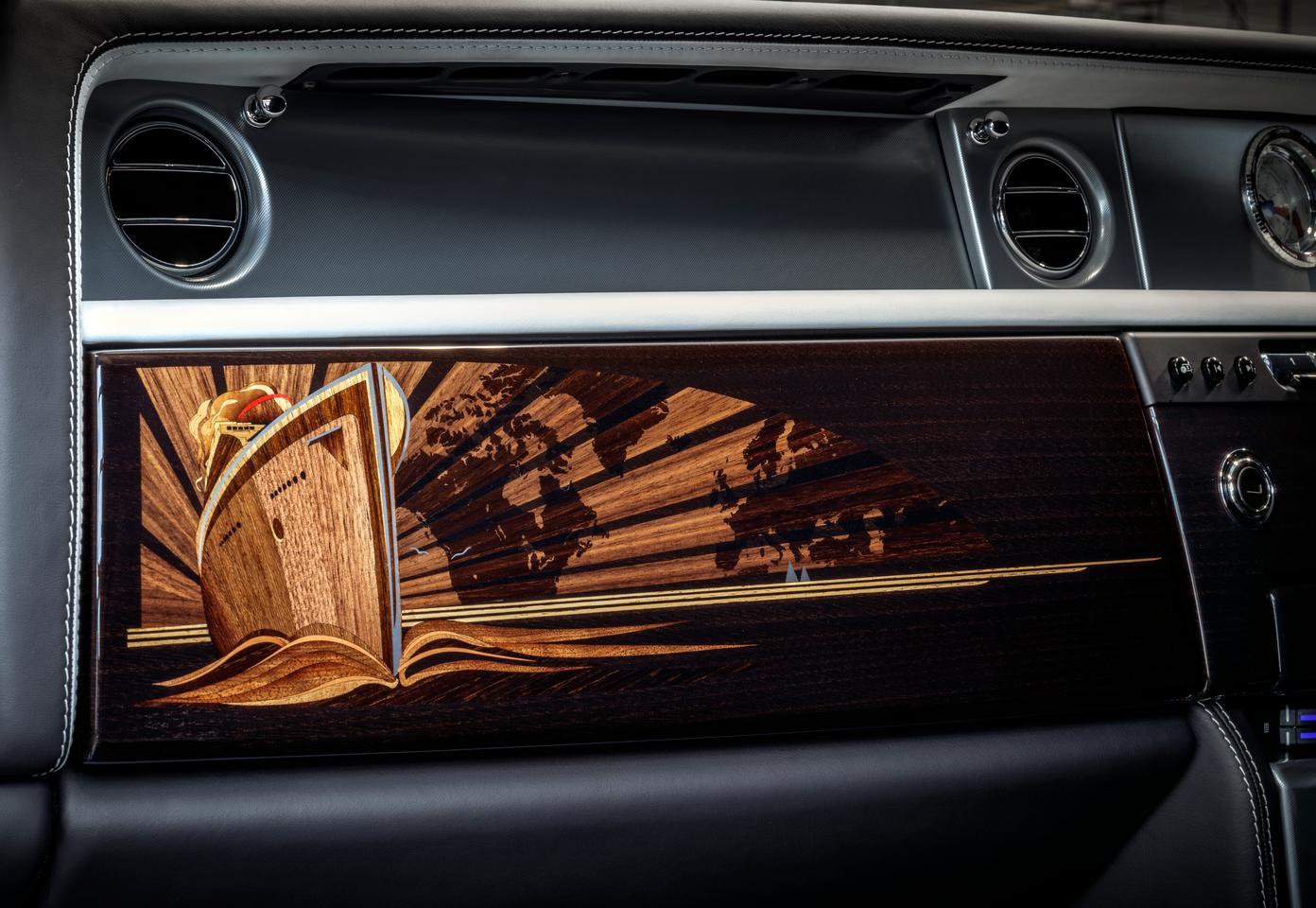The trim in the final Rolls-Royce Phantom