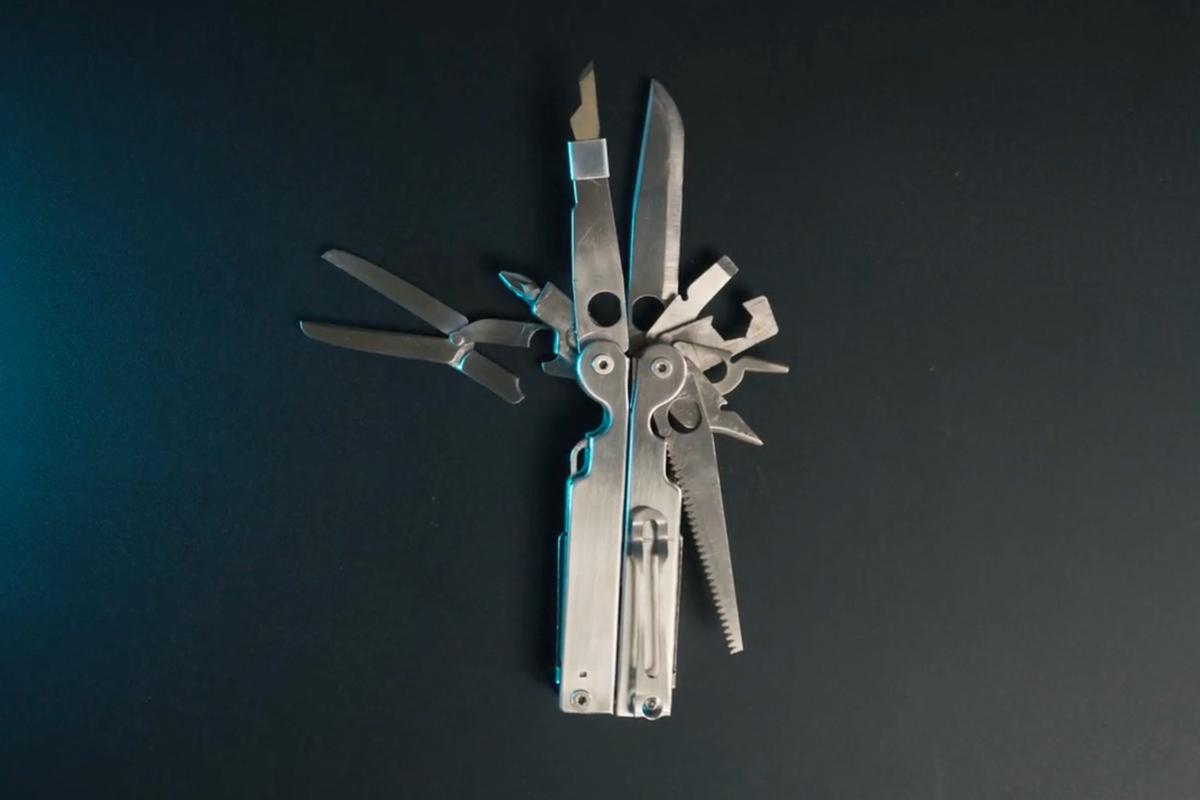 The Goat Tools multitool is currently on Kickstarter