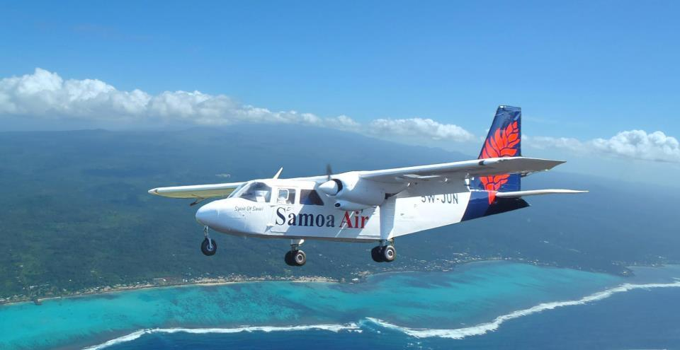 Samoa Air has become the first airline in the world to charge passengers based on weight