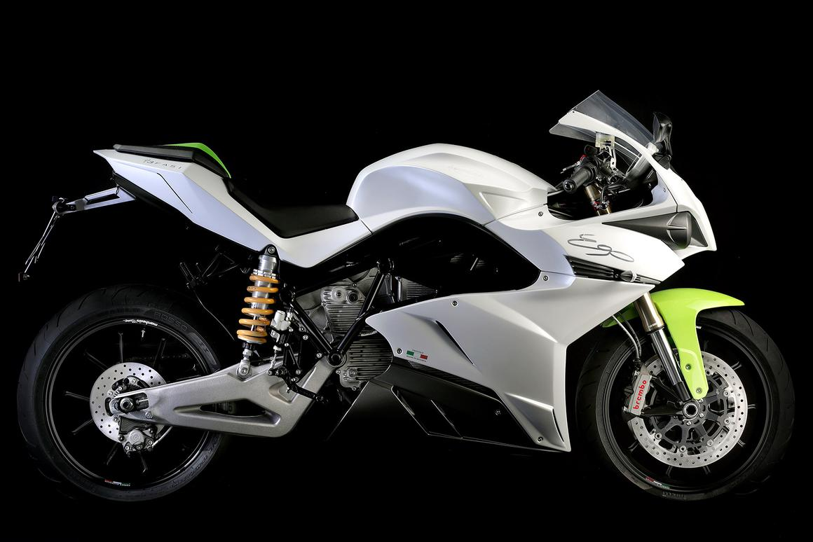 The 2015 Energica Ego electric superbike