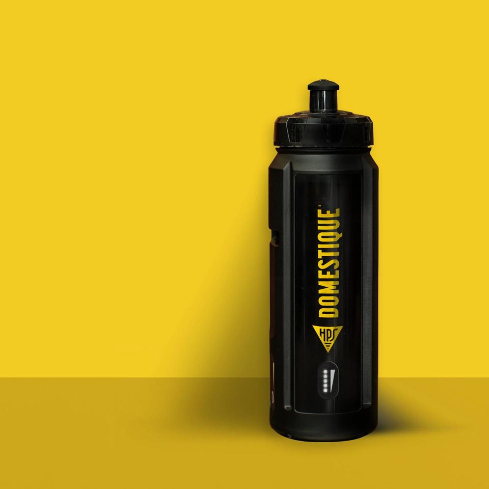 HPS designed its water bottle-style battery to look and feel like an actual water bottle