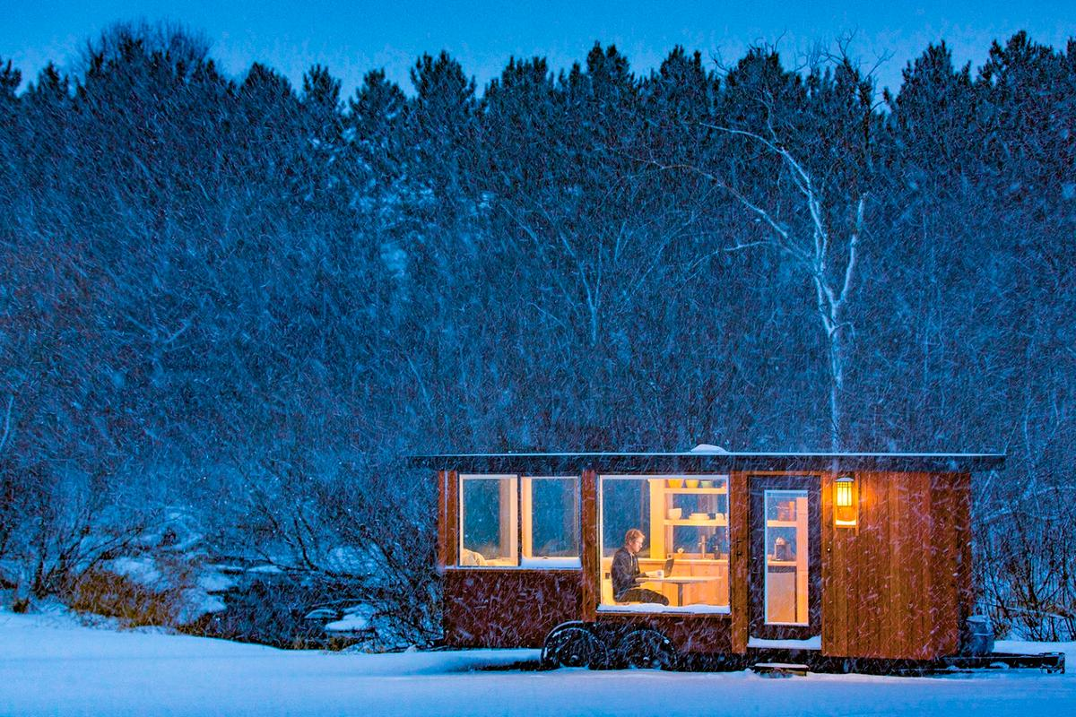 The Vista tiny house will set you back US$39,900