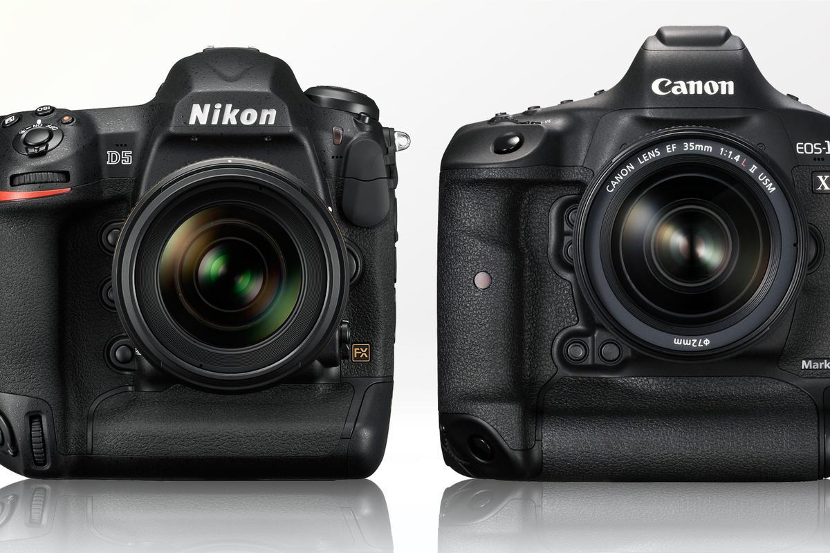 Gizmag compares the Nikon D5 and Canon 1D X Mark II