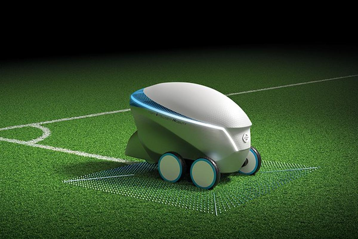 Nissan's Pitch-R robot