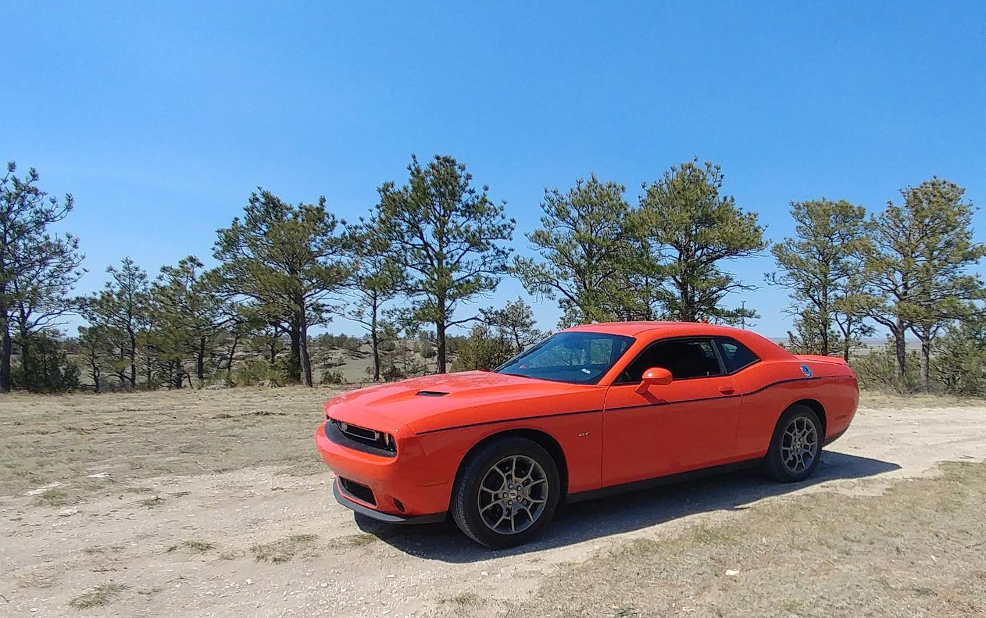 Takeoff traction for the 2017 Challenger GT is far better than it is in the rear-drive versions of the car