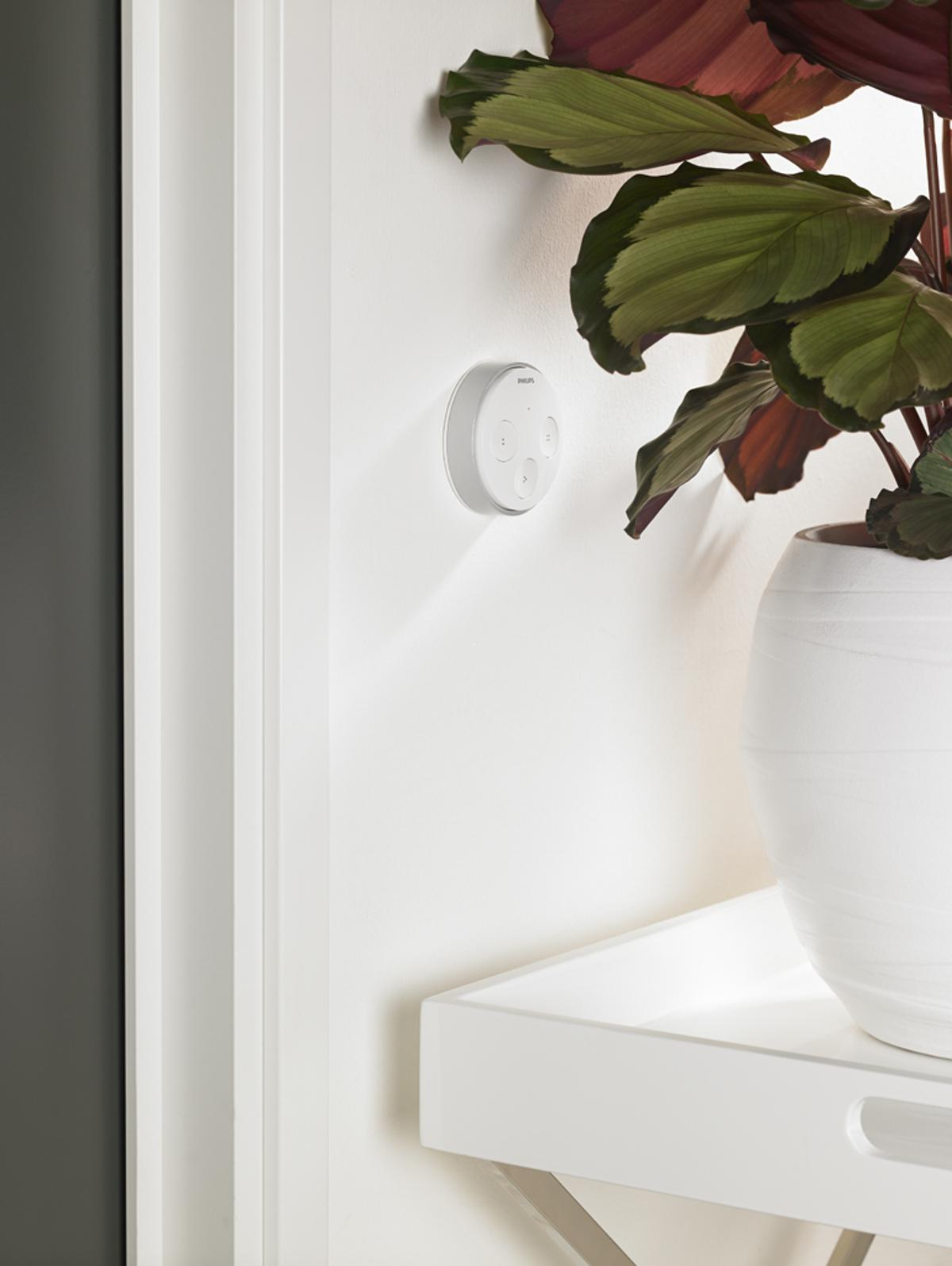 Hue tap allows users control over their hue light bulbs without using their smart device