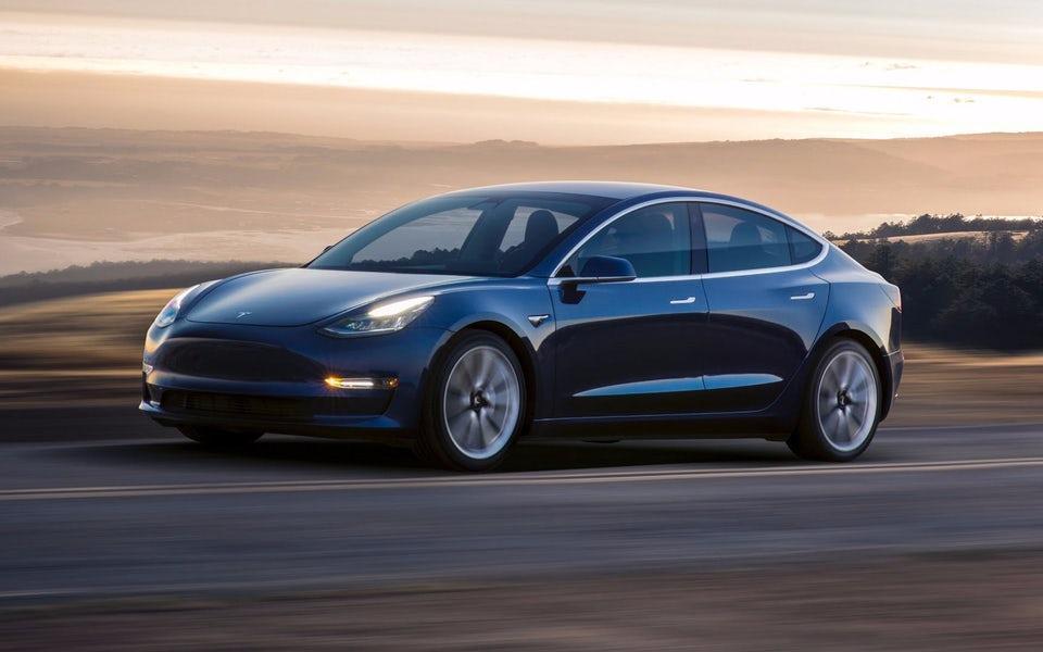 Tesla's Model 3 makes up a majority of its sales
