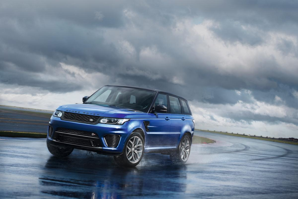 The 2015 Range Rover Sport SVR is the fastest Land Rover model