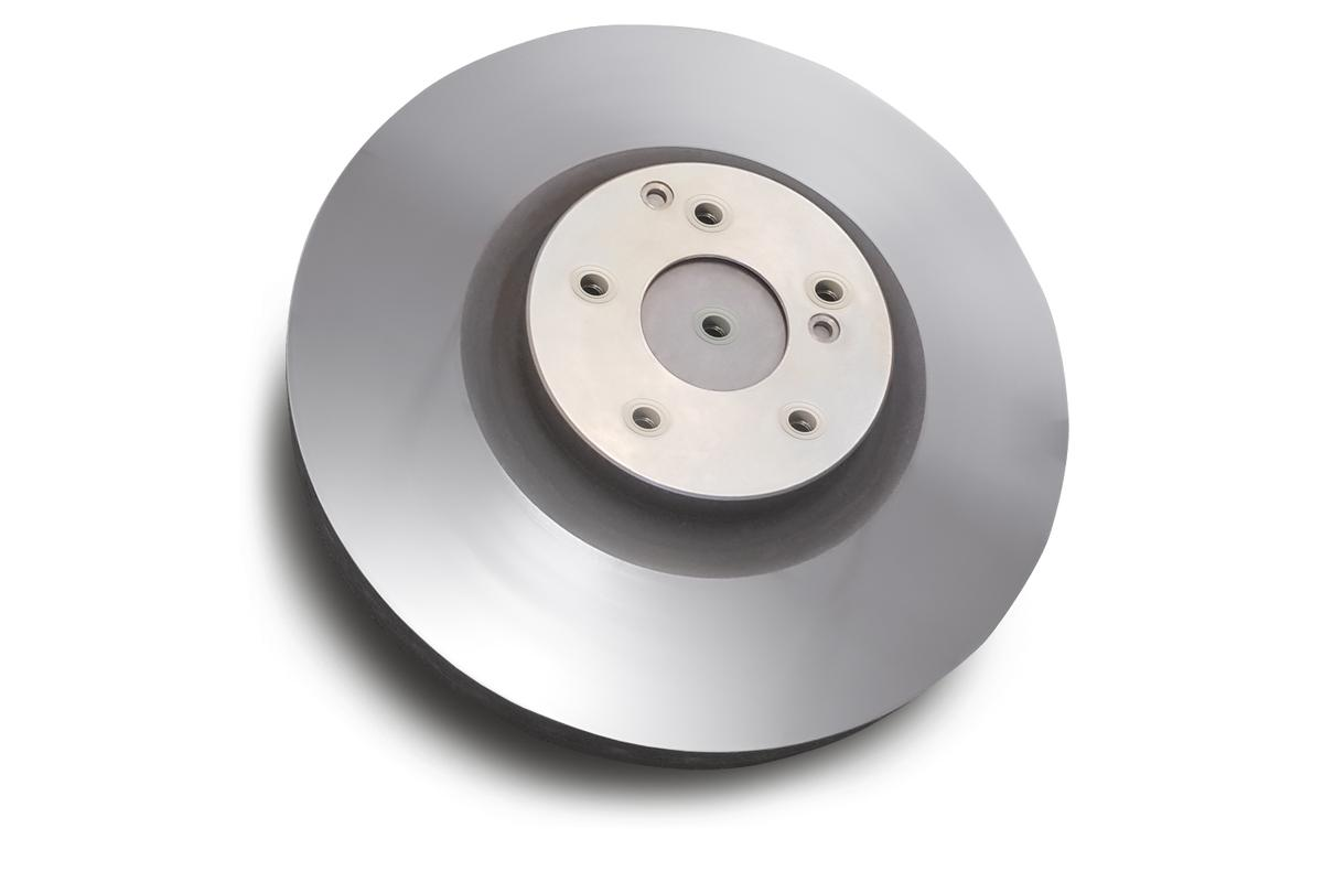 The Buderus Guss iDisc tungsten carbide-coated brake disc is reported capable of reducingbrake dust generation by 90 percent