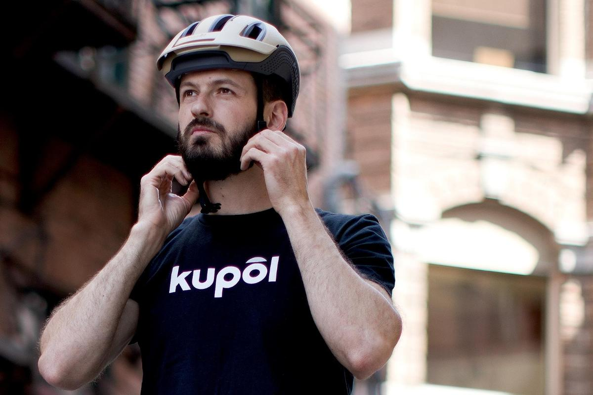 The kupol helmet is presently on Kickstarter