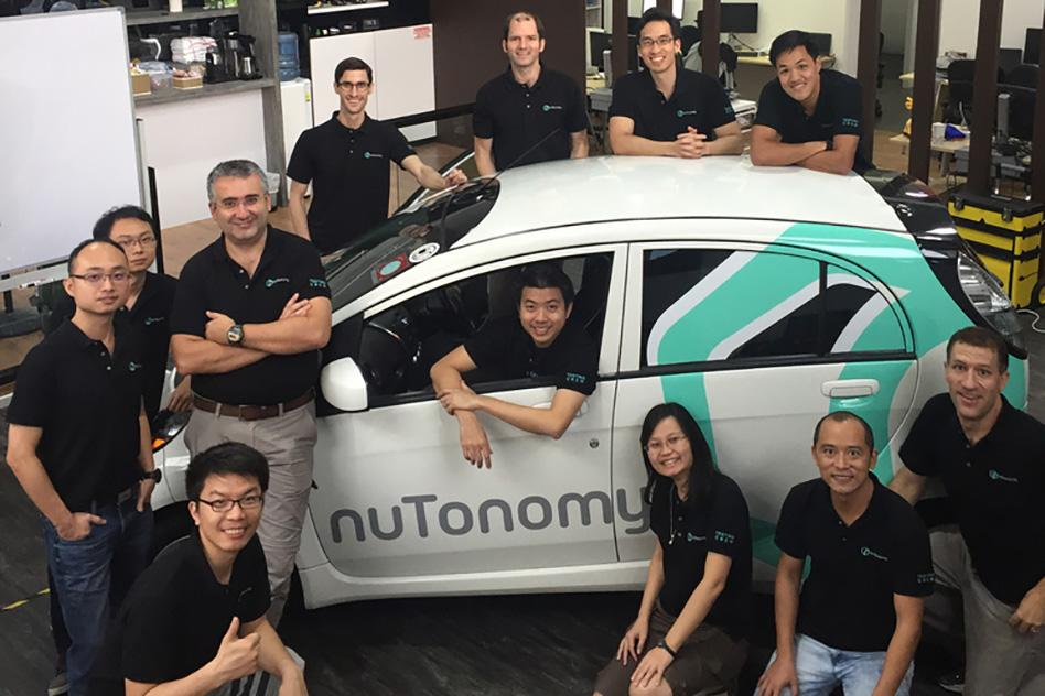 The team behind the driverless taxi