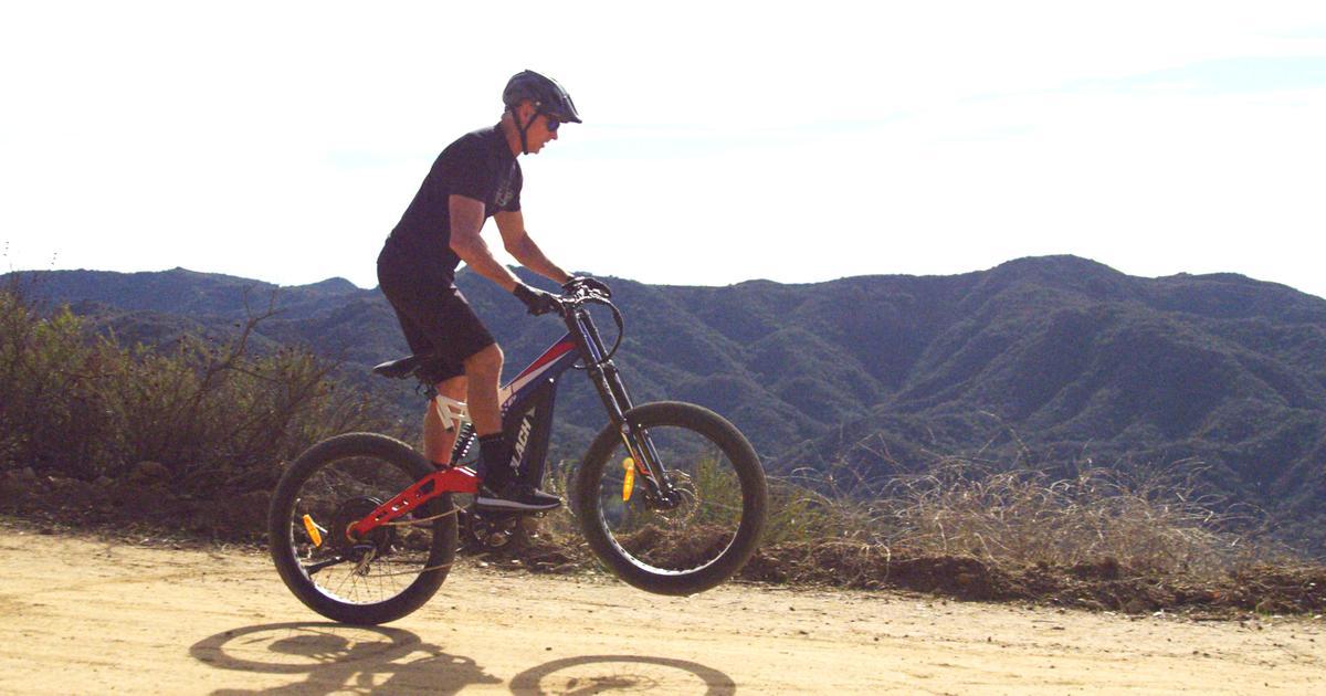 1,500-W motor powers Patriot Pro ebike up steep hills