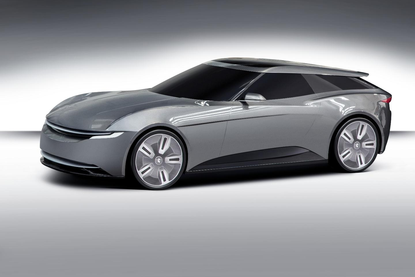The Alcraft GTshooting brake is a concept for now, but that will change if DavidAlcraft gets his way