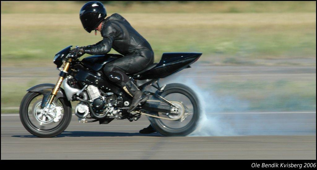 Ghost Rider's 500-horsepower turbo Hayabusa - up for grabs